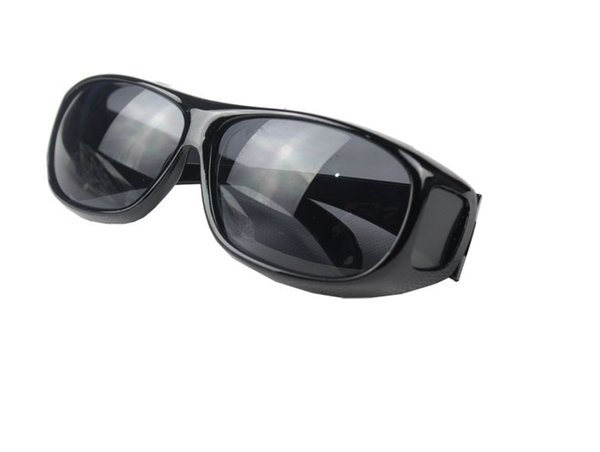 top popular 150pcs HD Night Vision Driving Sunglasses Men Yellow Lens Over Wrap Around Glasses Outdoor Cycling Dark Driving UV400 Protective Goggles 2019