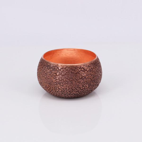 Venda quente de alta qualidade copo artesanal chá de cobre puro e xícara de café