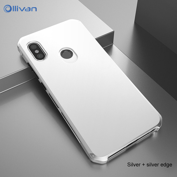 Redmi note 5 Case Shockproof Armor Aluminum Metal Frame Hard PC Phone Case For Xiaomi Redmi Note 5 Pro Cover Note5 Global Coque