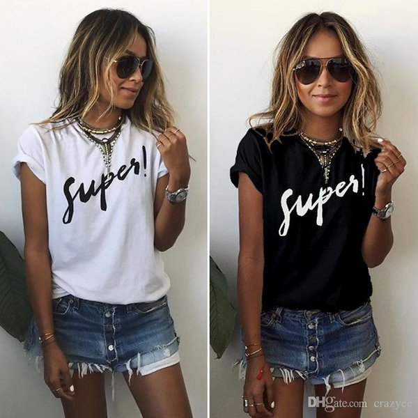 top popular PLUS SIZE S-5XL New Fashion Casual Women T-shirts Plus Size Sleeveless Summer Rock Punk Style Letter Loose Female T-shirt Black White Tops 2019
