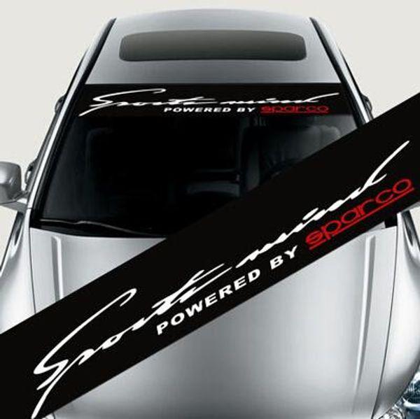 Wasserdichte Auto Auto Fenster Aufkleber SPEED RACING Aufkleber Für BMW Audi Peugeo Frontscheibe - Car Styling