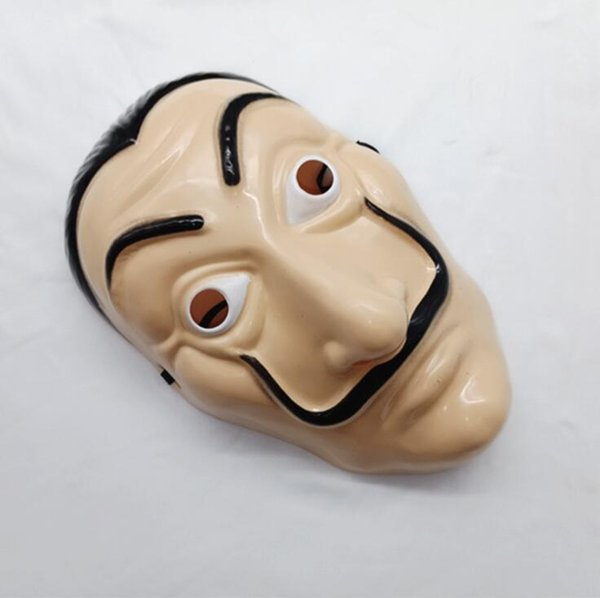 New High Quality Salvador Dali Latex Cosplay Mask Halloween Realistic Adult Party Props Masks Free Shipping