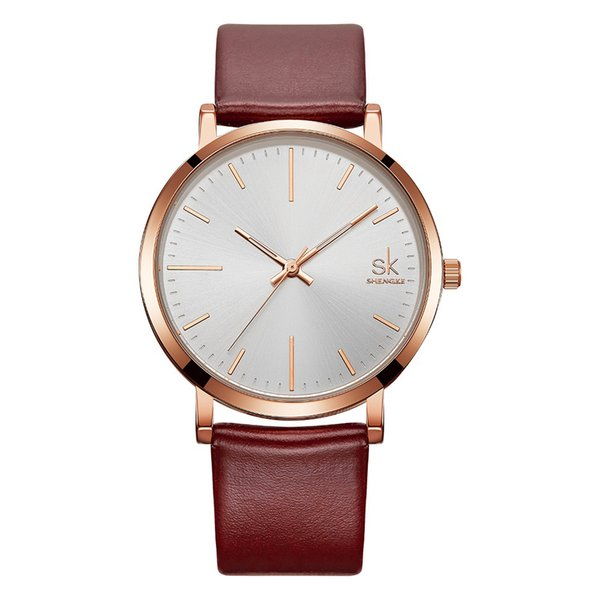 Minimalist Men Watches 2018 Luxury Brand Couples Watches Men and Ladies Quartz Wrist for Lovers montre pour Couple Watch