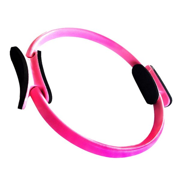New Arrival 36cm Magic GYM Pilates Yoga Ring Exercise Circles Fitness Workout Sport Dual Grip Resistance Ring Fitness Circle