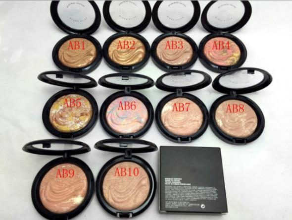Studio fix powder makeup mineralize kinfini h pouder de fintion natural 10 color cheeky bronze face powder 10g a857