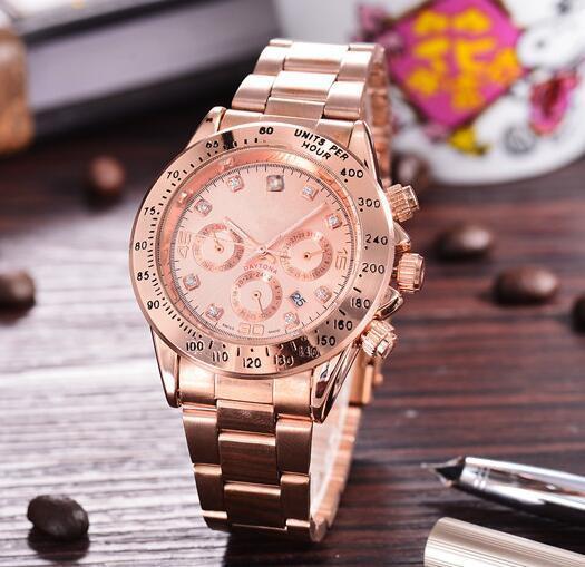 relogio masculino dames montre luxe robe créateur mode diamant double calendrier bracelet en or boucle déployante maître cadeau femme couple