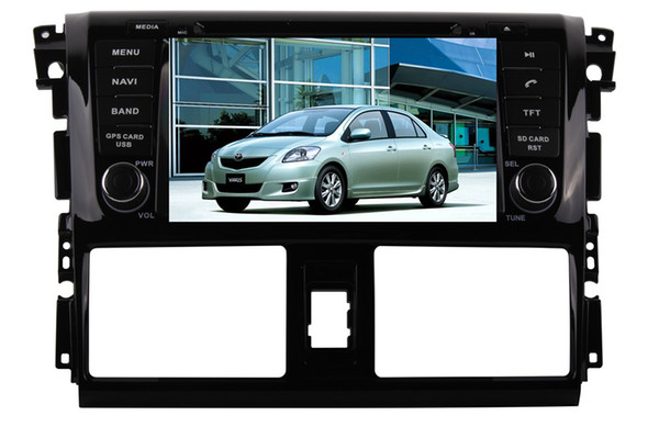 7'' Android 8.0 7.1 eight Octa core Car CD DVD GPS Player NAVIGATION AUTO for YARIS Sedan VIOS 2013~2016 4g ram 32g rom