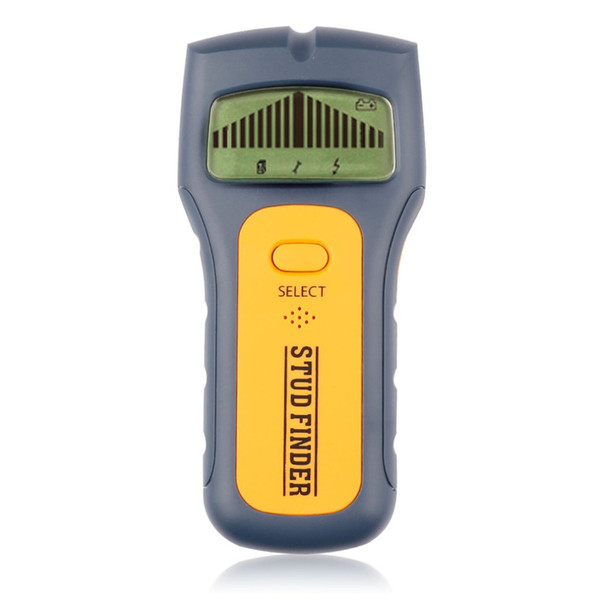 3 In 1 Stud Finder Handheld Scanner AC Live Wire Cable Metal Wood Detectors Detect Wall Detector Find LCD Display High Quality