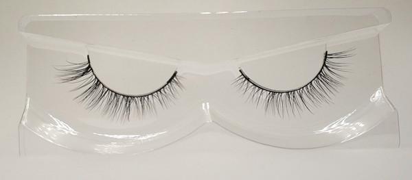 3D Mink False Eyelashes 100% Mink Fur Long Thick Hand-made Reusable Eyelashes Natural 1 Pair Pack MTL055