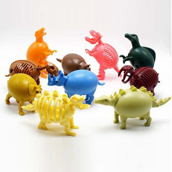 30 pz Bambini Giappone Capsula originale Giocattolo Dinosauri Manmaru Mosasaurus Saichania Triceratopo Pterosauria Gashapon figure da tavolo ragazzi ragazze