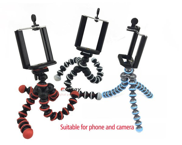 free shipping DL-CM-A2 smart phone holder Octopus camera mount black and white leg ball-joints tr1/4-20 screw thread