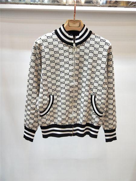 amyyao1232 / 1026 Freies Verschiffen 2018 Herbst Marke gleichen Stil Pullover Strickjacke Damen Pullover Start-und Landebahn Pink White Fashion Qian