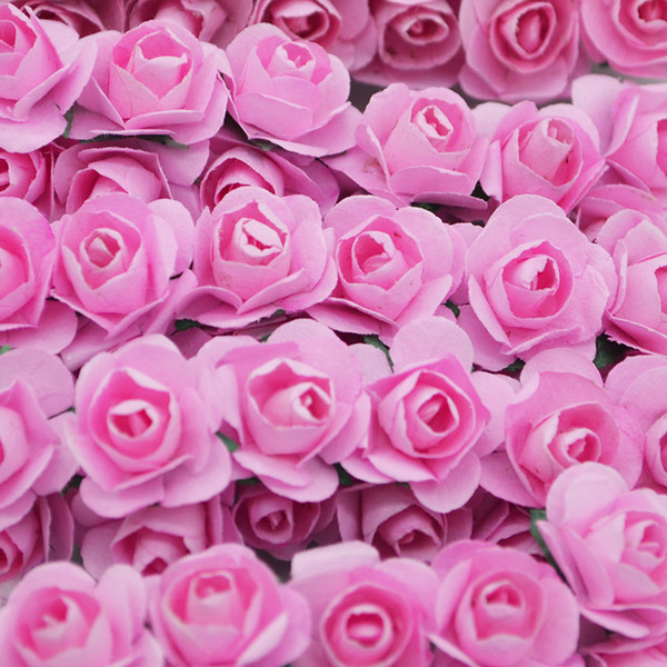 2019 2019 Hot Sale Wholsale Multicolor Artificial Paper Rose For Diy Wreath Craft Wedding Decoration Scrapbooking Fake Flowers From Haifoo 24 59