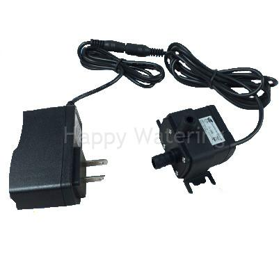 New DC Solar Pump 350L/H Flow Max Mini Water Pump 12V Can be Used Submersible and Land Type with Adapter