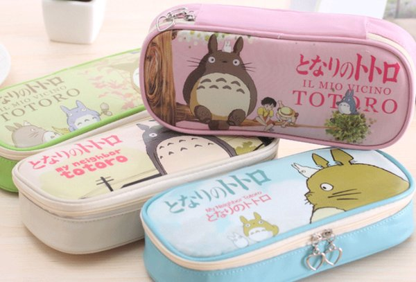 wholesale free shipping pencil case 8pcs\lot Korean creative stationery large capacity pencil box simple large capacity pencil box001