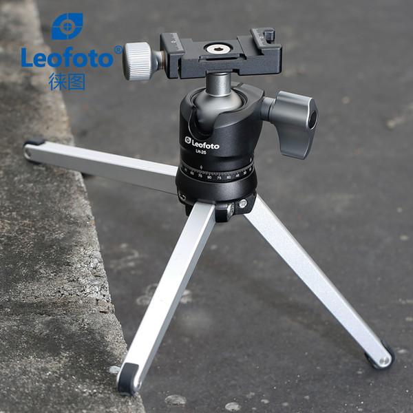 Mini tragbares Tischstativ für Kamera / Schreibtisch-Spitzenstandplatz mit Kugelkopf / kann in Tasche gelegt werden Ähnliches mit RRS TFA-01