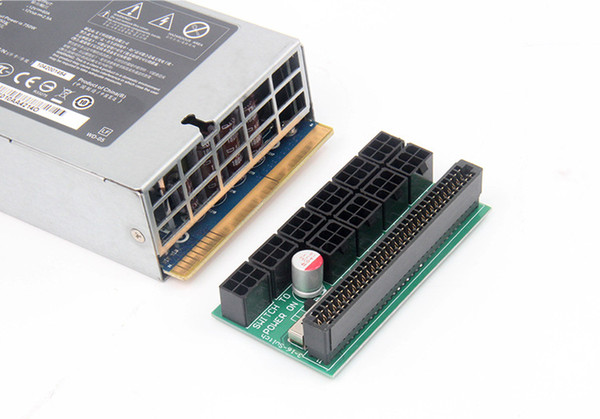 Server Power 6Pin Conversion Board Ethereum BTC Power Conversion Board 10 X  6P Outputs Same Direction Version Cables And More Laptop Cables From