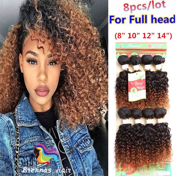 Pack Brazilian Hair Extension For Full Head Curly Hair Wefts Blended Hairstyles For Black Women African Good Hair Style Brazilian Remy Hair Weave
