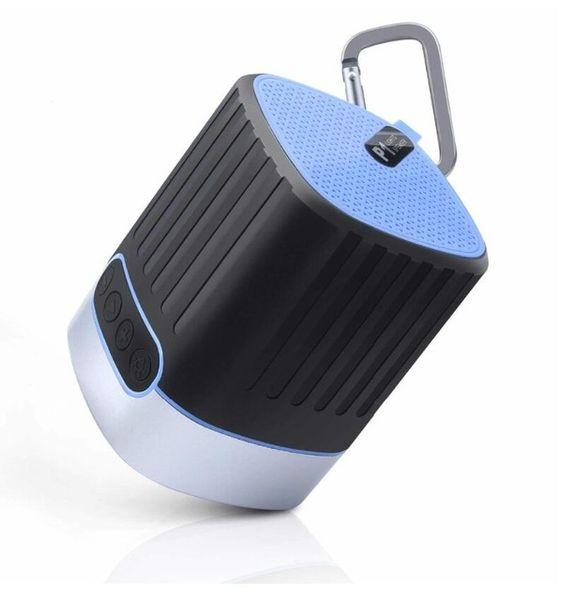 Outdoor waterproof bluetooth speaker portable wireless subwoofer + LED field survival SOS emergency light function mobile phone universal