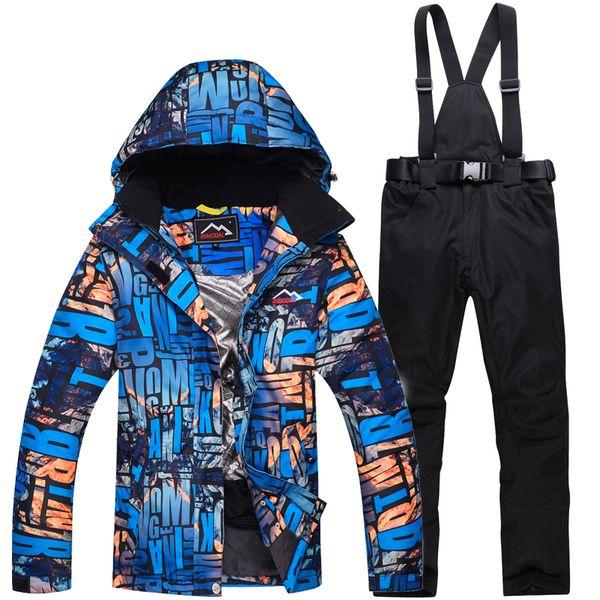cc11b3ad4 2018 Ms New Outdoor Sports transpirable traje de esquí de invierno de las  mujeres en el