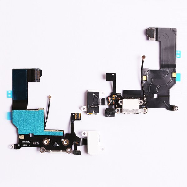 New Charger Charging Port Dock USB Connector Data Flex Cable For iPhone 5 5G 5S 5C Ribbon Replacement Parts
