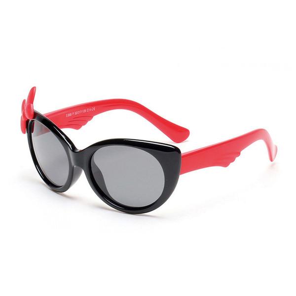schwarzer Rahmen + rot