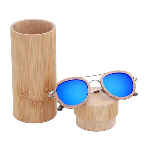 blue lens with case