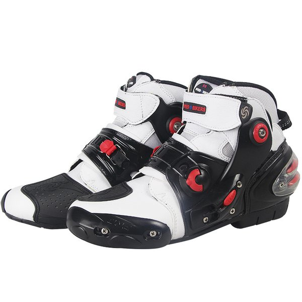 Free shipping summer moder motorcycle boots SPEED BIKERS Microfiber leather racing boots A9001