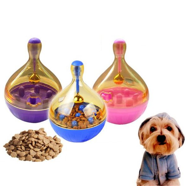 Tumbler Pet Toys Cat Dog Automatic Food Leakage Implement Ball Feeders Plastic Resistance Bite Nonpoisonous Dog Toys & Chews