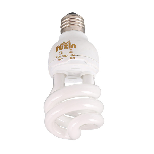 Reptile Ultraviolet UVB Lámpara de Compresión Helicoidal 5.0 10.0 Lámparas de Crecimiento para Mascotas Lámparas Ultravioleta
