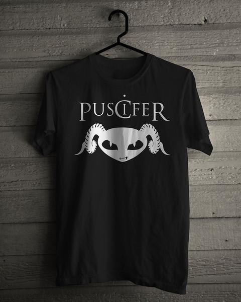 Nova Puscifer Alternative Rock Band Preto T-Shirt Tamanho S-5XL Engraçado frete grátis Unisex presente Ocasional
