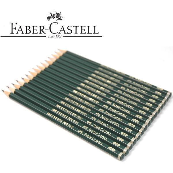Faber Castell 9000 Graphite Pencil for Drawing and Sketching 12Pcs 6H,5H,4H,3H,2H,H,F,HB,B,2B,3B,4B,5B,6B,7B,8B Art supply