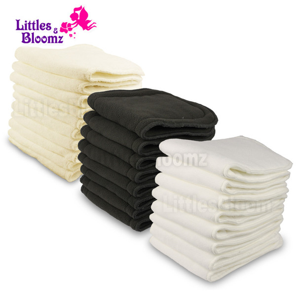 best selling Reusable Washable Boosters Liners For Real Pocket Cloth Nappy Diaper Cover Wrap microfibre bamboo charcoal Inserts