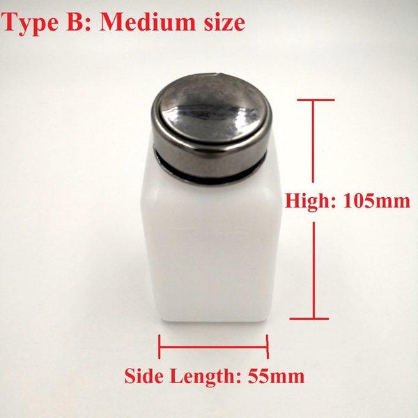 Tipo B (tamanho médio)