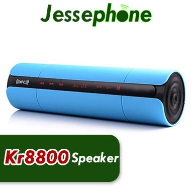 Hot KR-8800 Wireless Bluetooth Speaker Portable Speaker with LCD Screen /FM Radio NFC Function/Touch Buttons for Music Audio Player