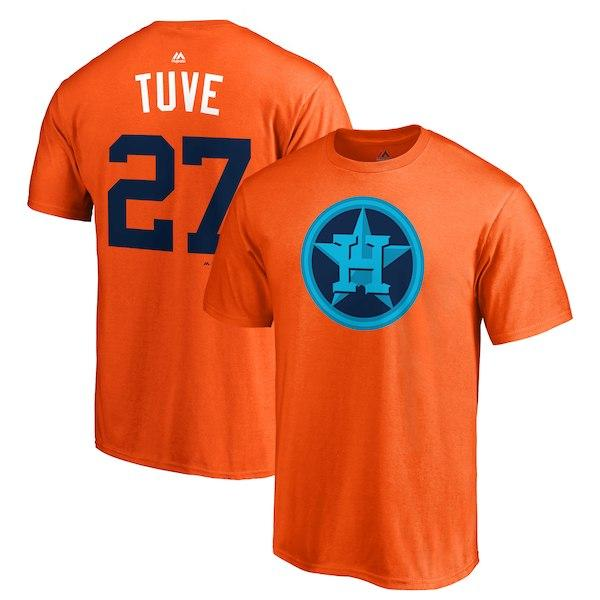 super popular ee08e 7d29d Houston Astro Baseball T Shirt Springer Altuve Correa Verlander Ryan  Bregman Players' Weekend Any Name And Number Tee T Shirt Designing  Personalised T ...