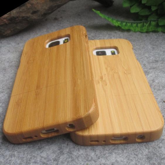 Luxury Wooden Cellphone Case For Samsung S7 edge Bamboo Wood Hard Back Cover S7 High Quality Cell Phone Protective Shell Free DHL 53