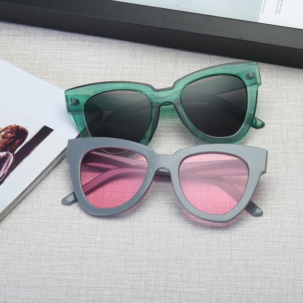 солнцезащитные очки Женщины 2018 старинные женщины мужчины старинные ретро очки мужская мода зеркало линзы солнцезащитные очки люнет-де-солей femme A8