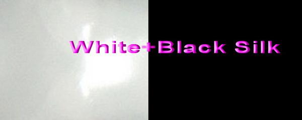 White+Black Silk