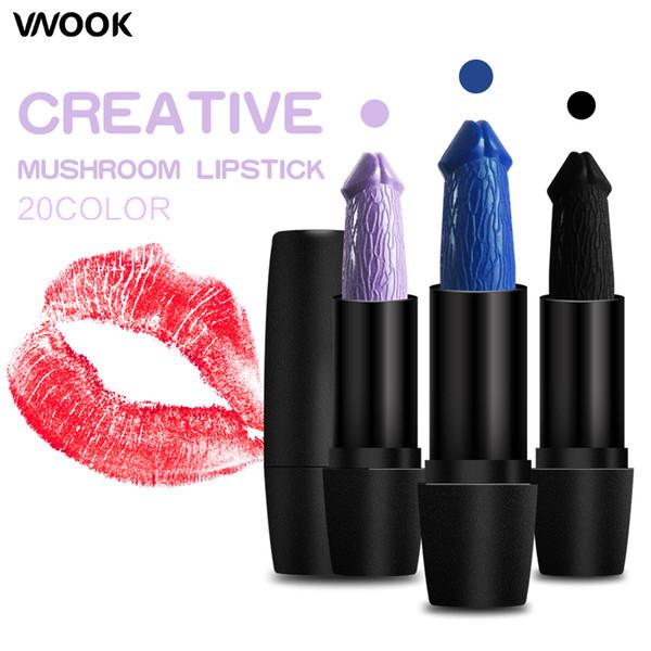 makeup kosmetik Penis Shape Lipstick Ma20 Color Balan Shape Lipstick Matte Long-Lasting Waterproof Hot Sell women make up