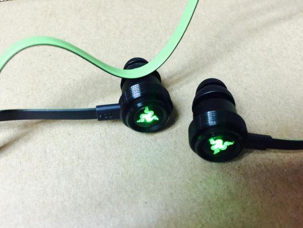 Auriculares Bluetooth inalámbricos Razer Hammerhead BT Auriculares inalámbricos en la oreja con micrófono con caja al por menor en los auriculares Gaming Ear