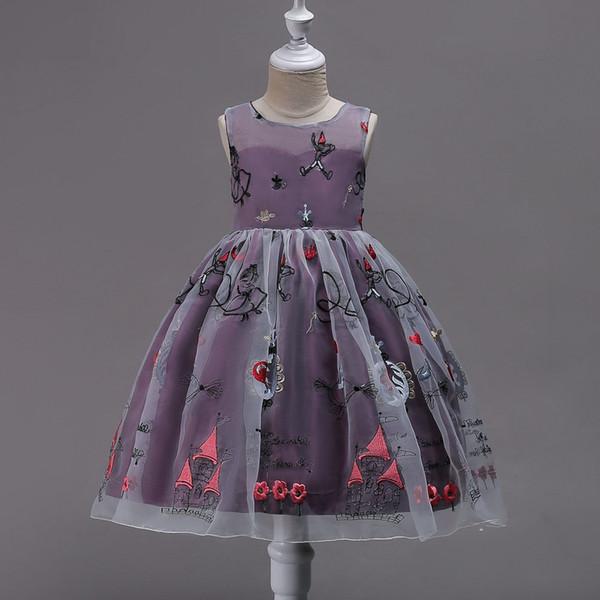 Acheter Robe Brodée D été Pour Enfants De 4 à 14 Ans Vêtements De Fête Vêtements Pour Bébé Vêtements De Boutique Pour Adolescent 7 Pièces