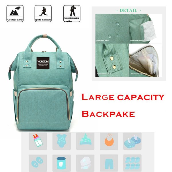 Retail Diaper Bags baby bags for moms baby storage bags Backpacks multi functional diaper bag kid diaper bag backpack