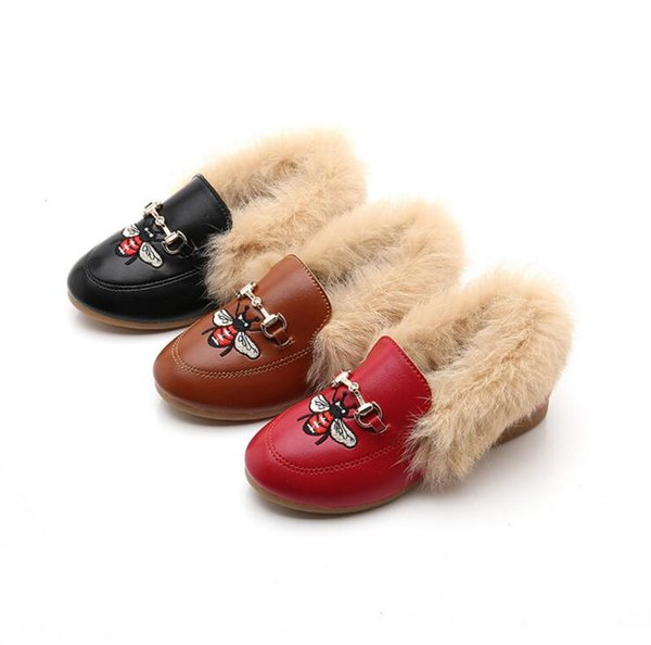 comfy kids Plus velvet peas cotton shoes Fashion boots children's warm soft baby kids shoes of boys and girl fashion casual style