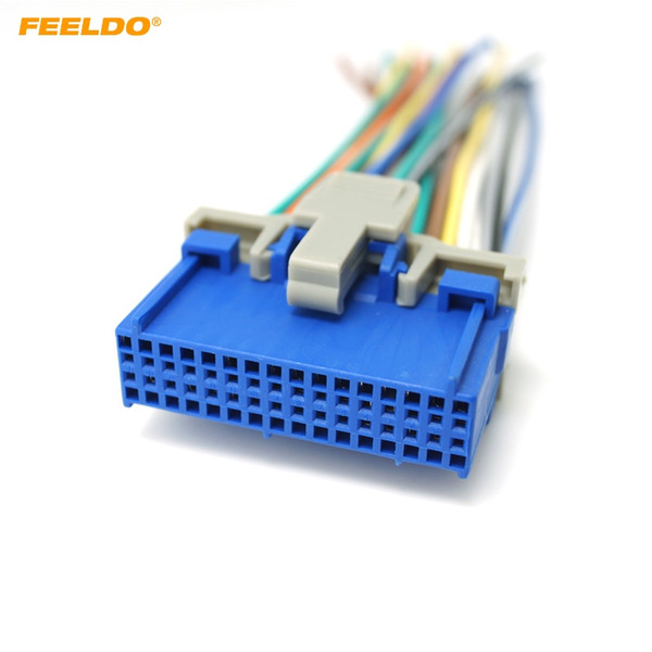 2019 FEELDO Car Audio Stereo Wiring Harness For Buick/Cadillac/Pontiac/Oldsmobile on buick tail light, buick air cleaner, buick regal headlight wire harness, 98 buick engine harness, buick motor, 1996 buick car stereo wire harness, buick seats, buick wheels, 1948 buick wire harness,
