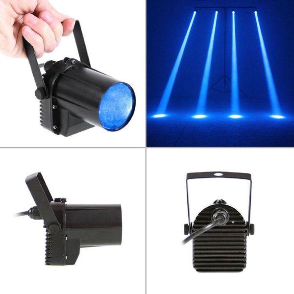 Mini3w blauen LED-Stadiums-Licht-Lampen-Projektor Disco-Tanzparty-Verein KTV DJ Spin-Laser-Stadiums-Lichteffekt Spotlight Pinspot