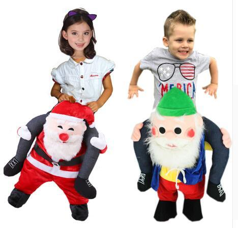 Children Ride on Me Mascot Costume Carry Back Funny Animal Pants Fancy Dress Oktoberfest Halloween Party Costume for Kid