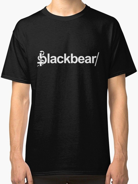 BlackBear Merchandise Camiseta para hombre Verano negro Camiseta con estampado para hombre Oferta barata 100% algodón Camiseta blanca Estilo