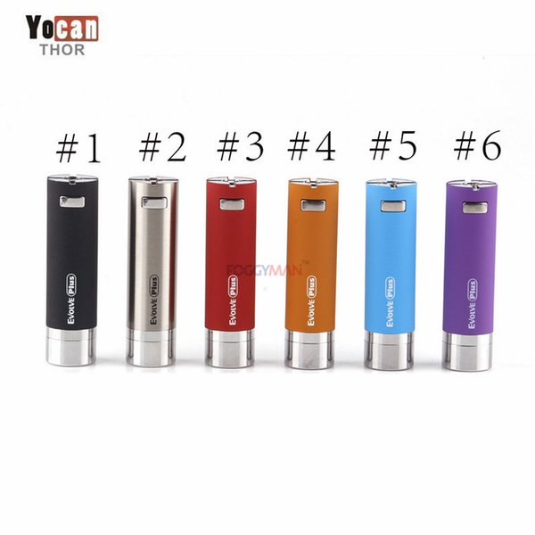 Original YOCAN EVOLVE Plus Battery Electronic Cigarette Mod with 1100mah Battery Built-In Vape Pen Battery