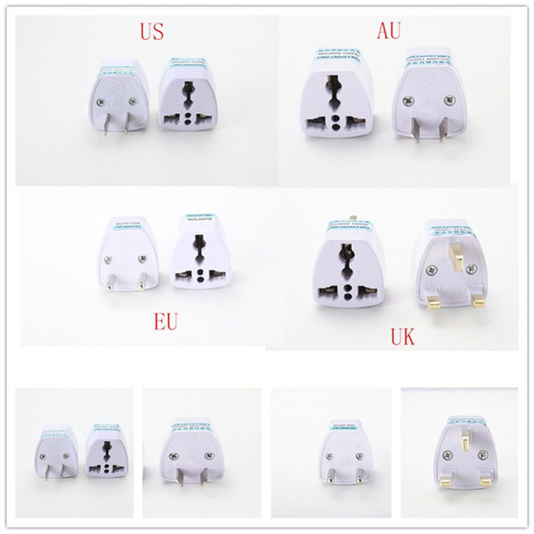 top popular Universal Power Adapter Travel wall Adaptor AU US EU UK Plug Charger Adapter Converter 3 Pin AC Power For Australia New Zealand 2020